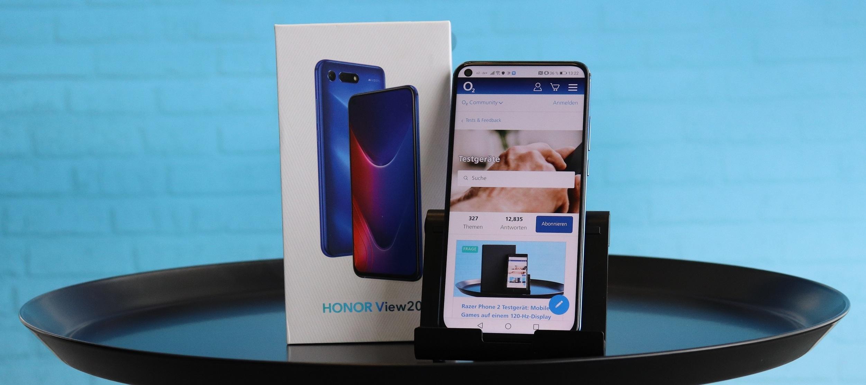Honor View 20 Testgerät: Nutze die Chance und werde Handytester/in! Bewirb dich jetzt!