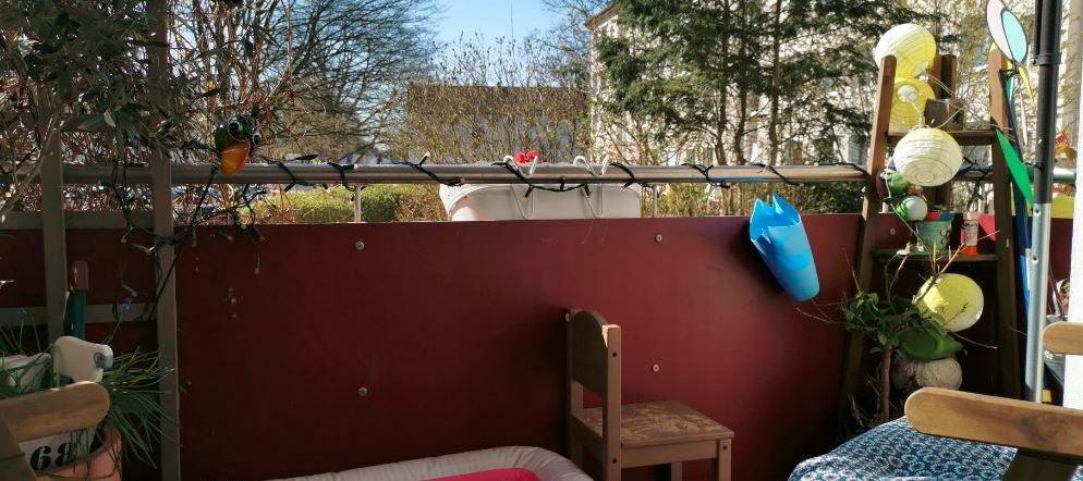 Die Sonne lacht: Zeigt her eure Balkone!