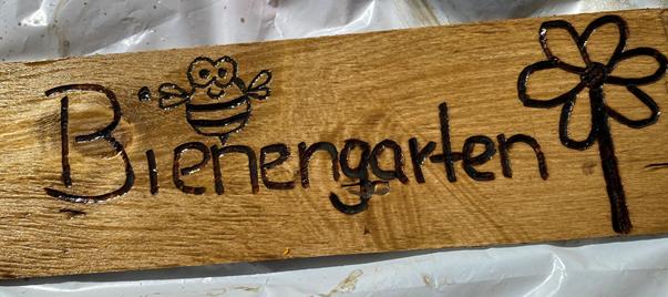 """""""Der Bienengarten"""" oder """"Die alte Schubkarre erlebt ihre Renaissance"""" - Making of vom gestrigen Corona sunday"""