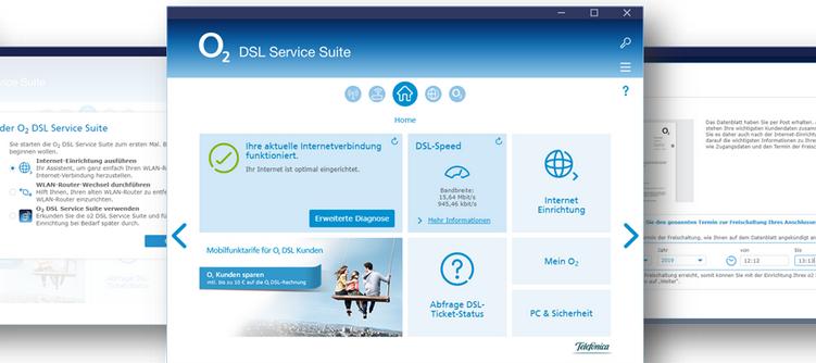 O₂ DSL Service Suite - neue Features ab sofort verfügbar!