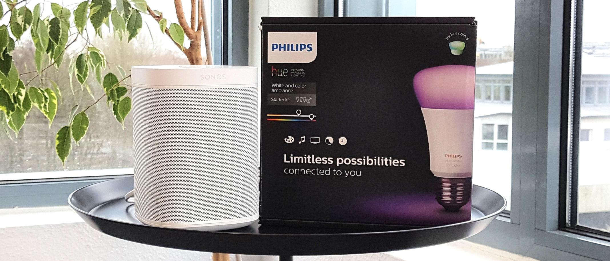 Sonos One + Philips Hue im Bundle - Jetzt bewerben und Smarthome-Tester/in werden!