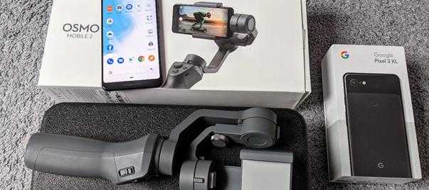 Google Pixel 3 XL & Osmo Mobile 2 Gimbal - Meine treuen Gegleiter die letzten Wochen