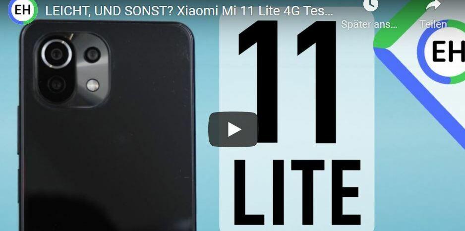 Dünn, leicht, und sonst? Xiaomi Mi 11 Lite 4G - Mein Erfahrungsbericht