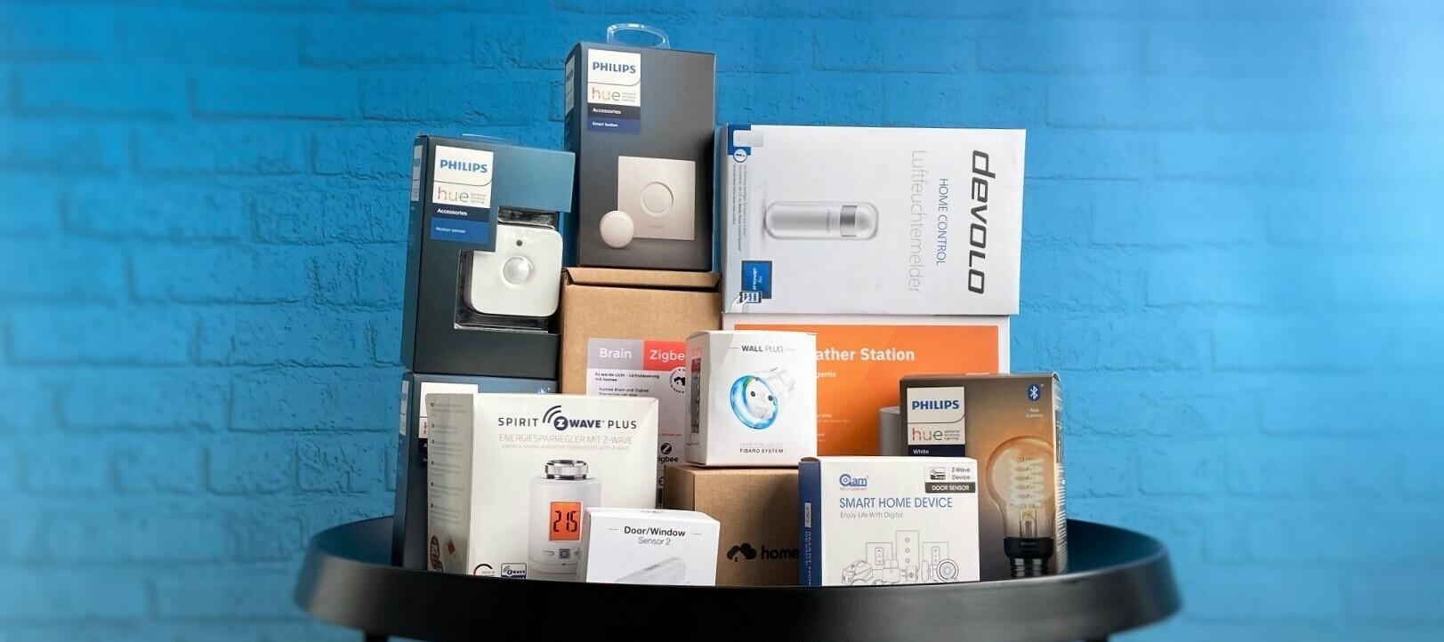 Smart Home Bundle - Der Produkttest für dein zu Hause - jetzt bewerben und Produkttester:in werden