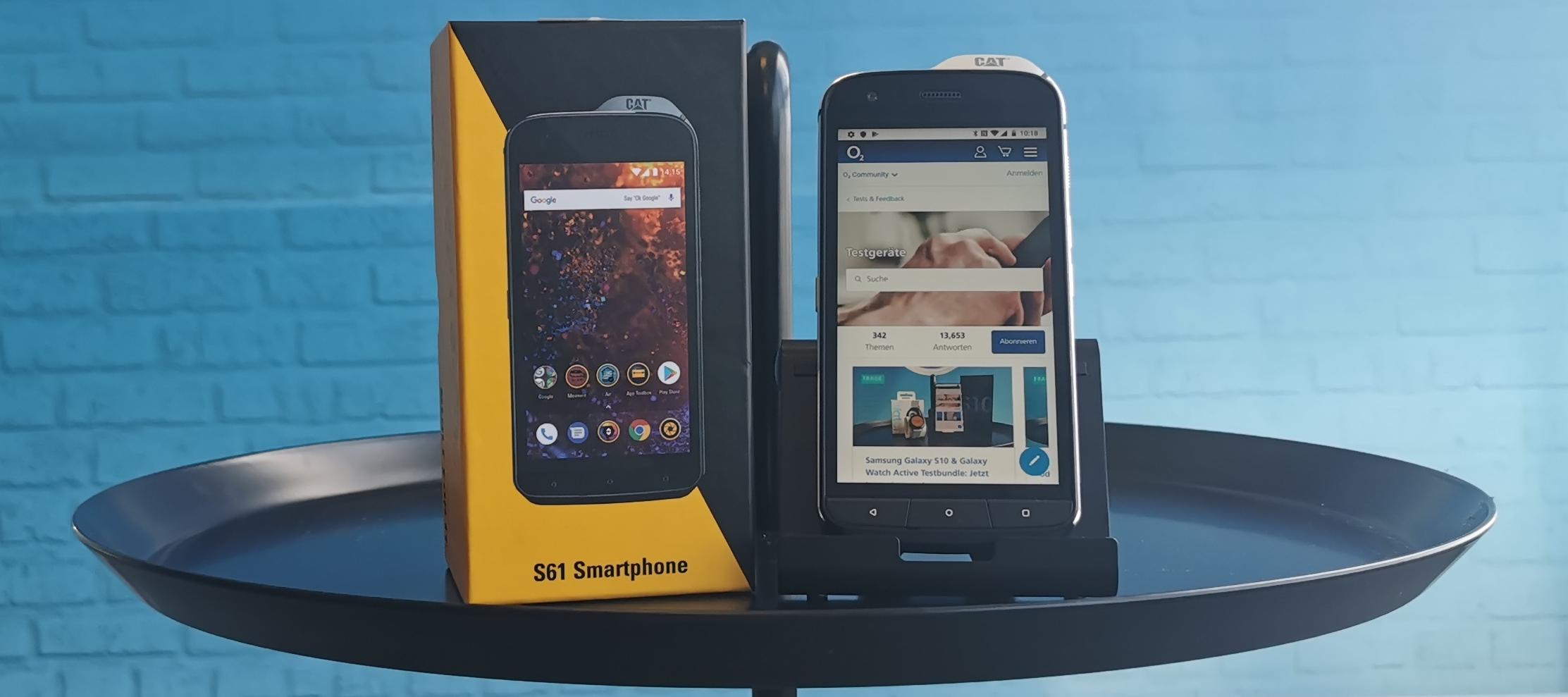 Cat S61 Testgerät: Du möchtest deine Arbeit leichter gestalten? Dann bewirb dich jetzt und werde Smartphone-Tester/in!