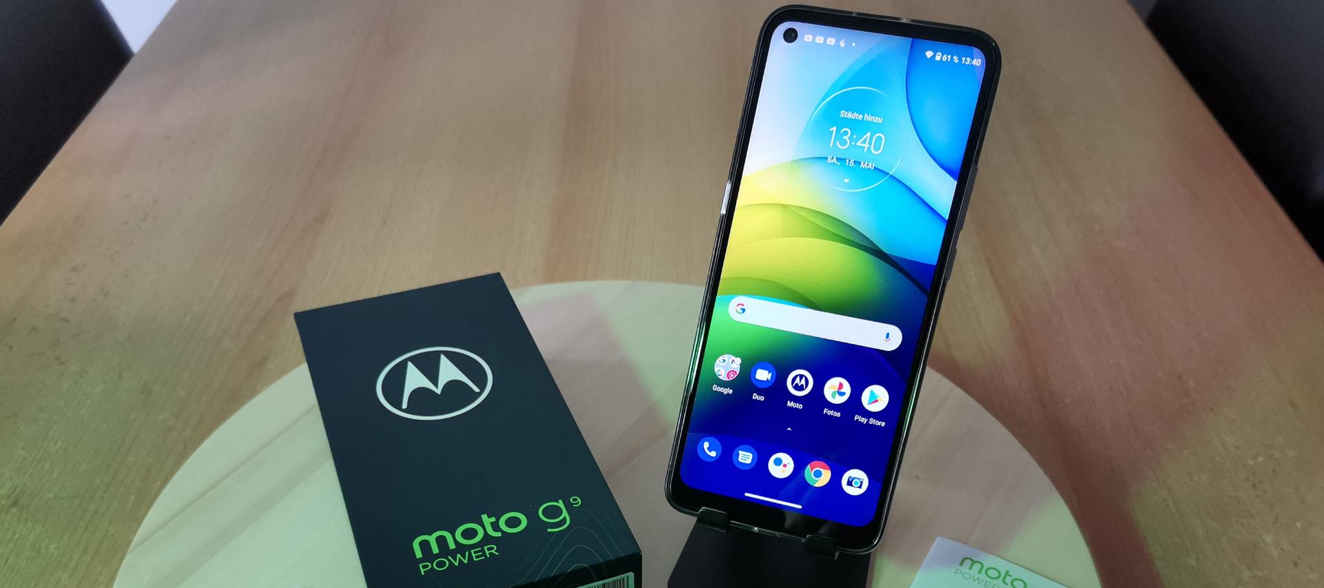 6000 mA durch den Tag - Mein Test zum Motorola G9 Power