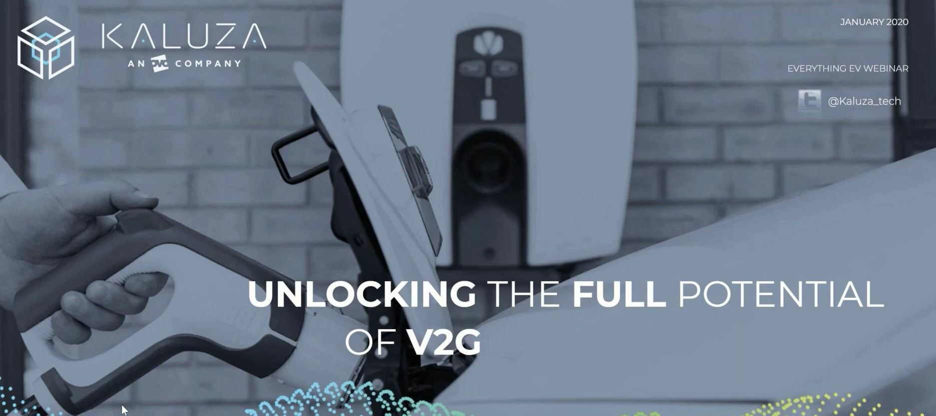Everything EV webinar - Unlocking the full potential of Vehicle to Grid (V2G)!