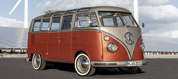 VW Electrifies the Samba Bus