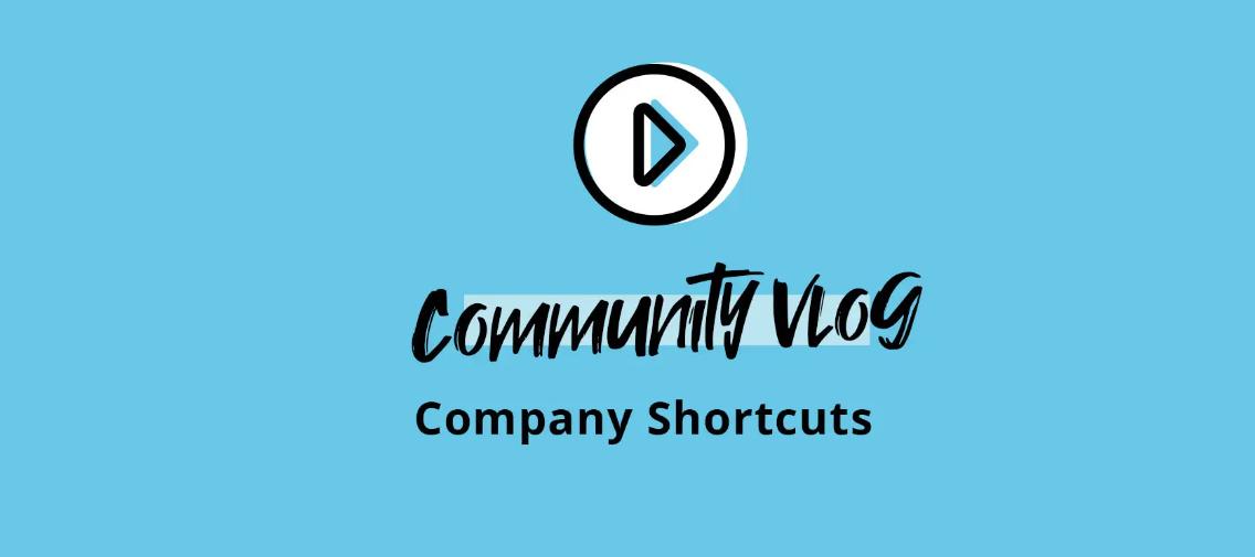 Personio Community Vlog - Company shortcuts