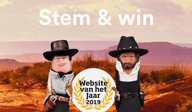 Stem op Simpel voor Website van het Jaar 2019!