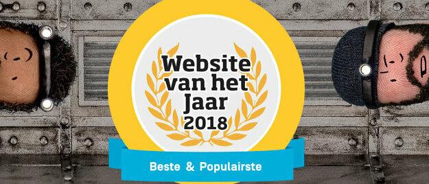 Simpel is website van het jaar 2018!