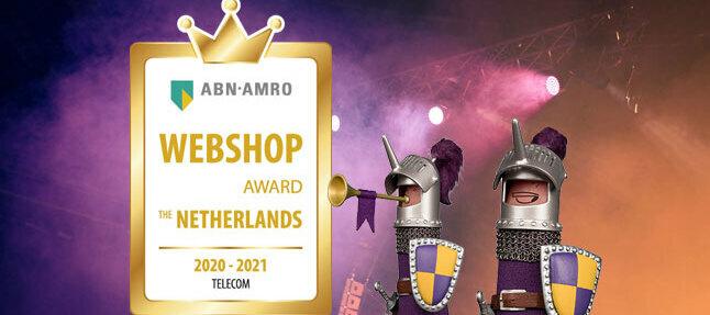 Winnaar Webshop Award 🏆