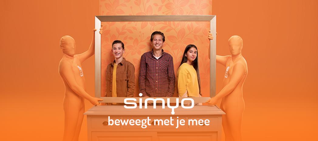 Van 'Jij Blij Wij Blij' naar 'Simyo Beweegt Met Je Mee'
