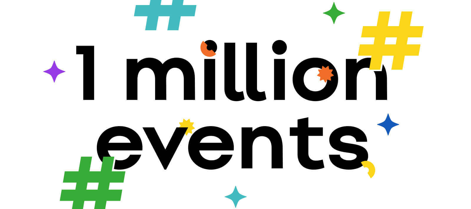 1 Million Events 🎉