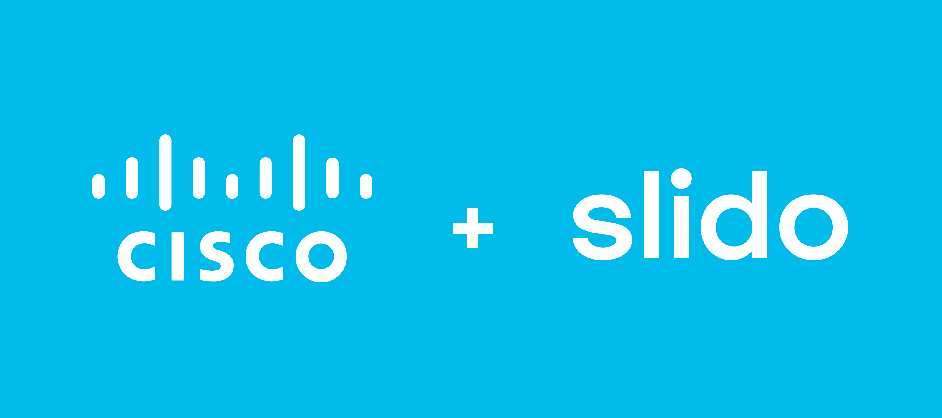We're excited to share the news about Cisco's intent to acquire Slido!