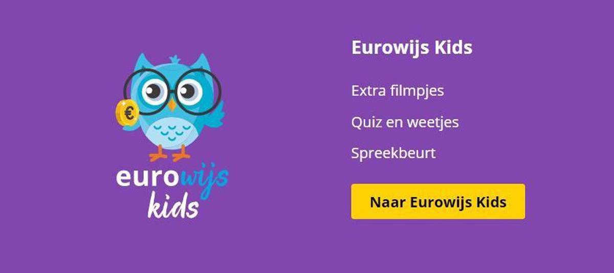 Doe je mee met Eurowijs Kids? Dé leukste website over geld