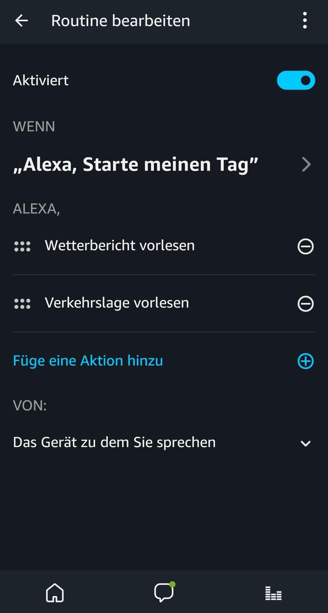 Funktioniert Die Routine Funktion Von Alexa Schon Sonos