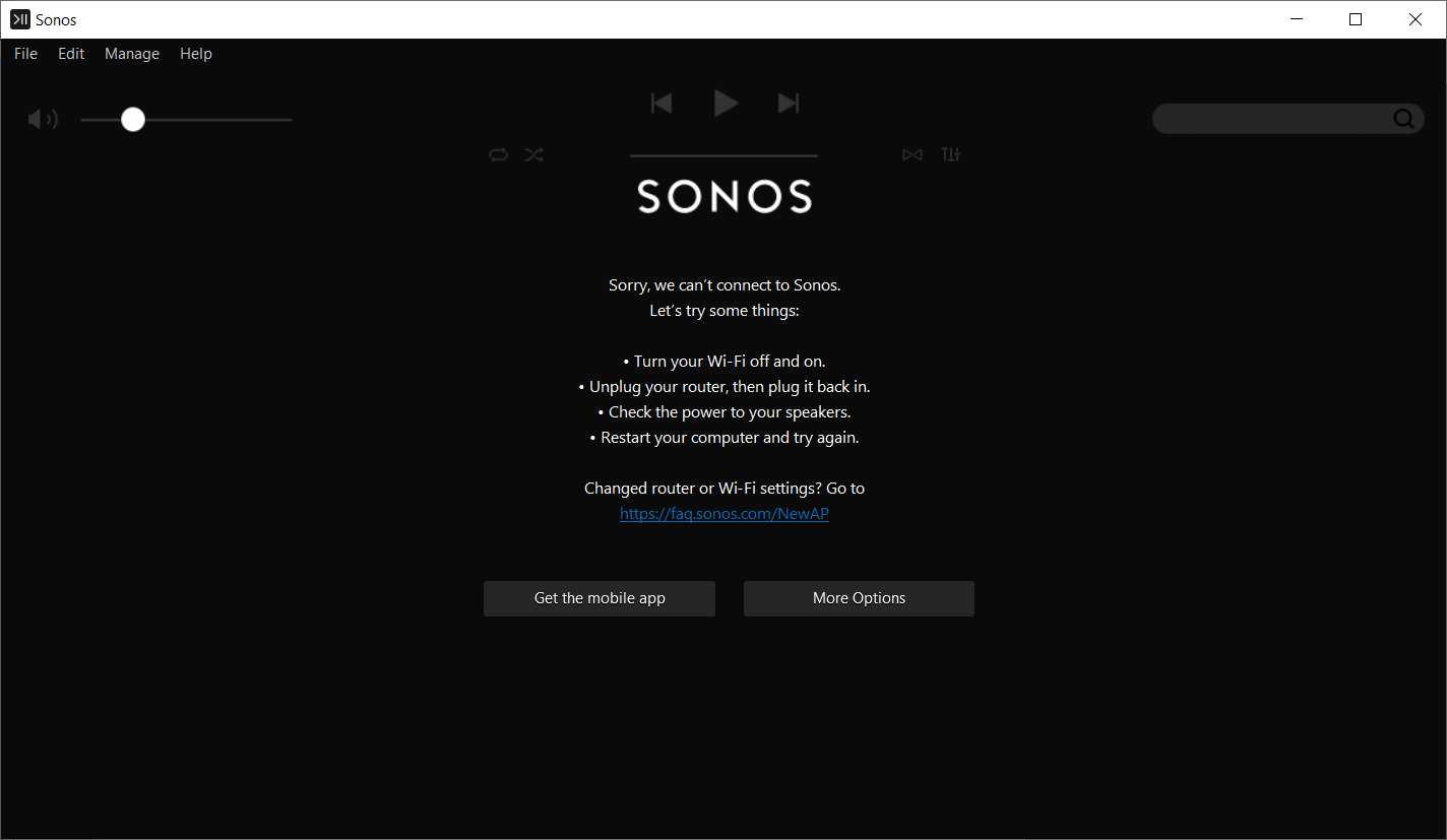 Sonos Controller Windows