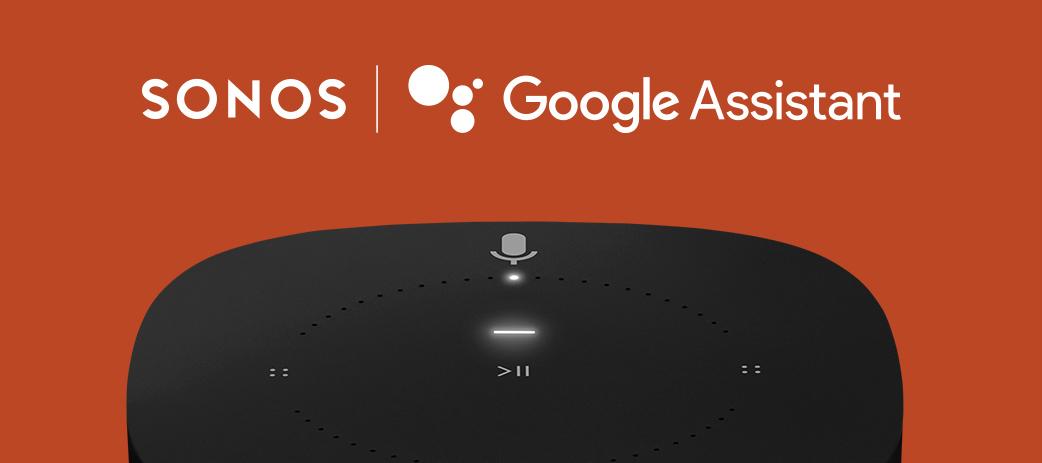 Google Assistant ankommer til Danmark og Sverige på Sonos.