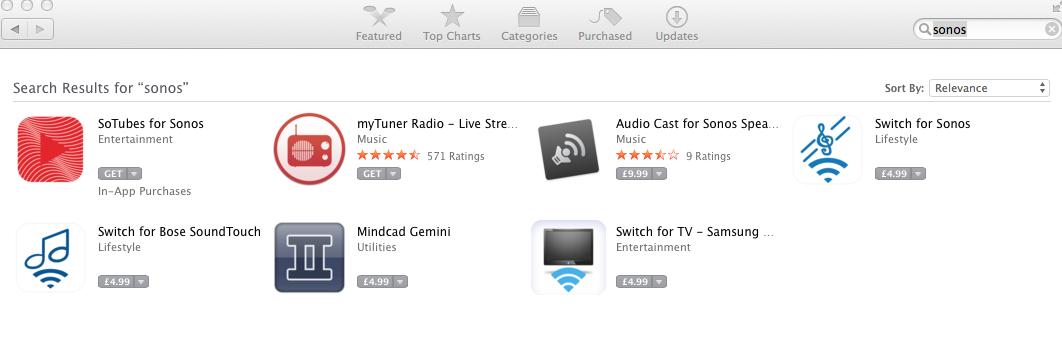 Sonos app for mac air