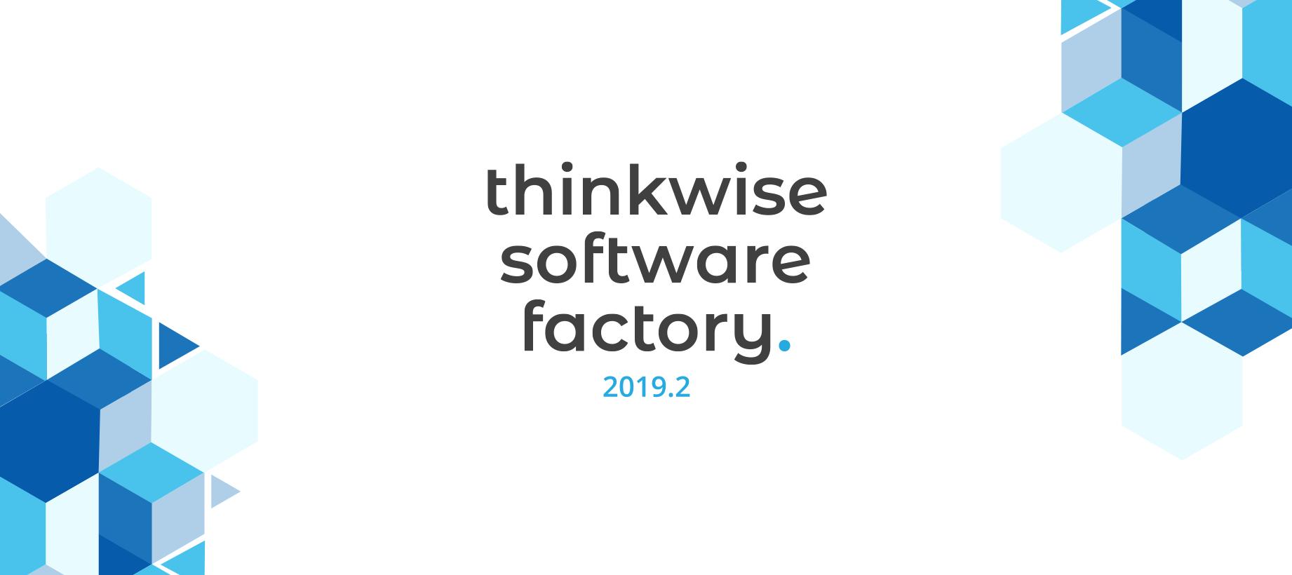 Thinkwise Platform release 2019.2
