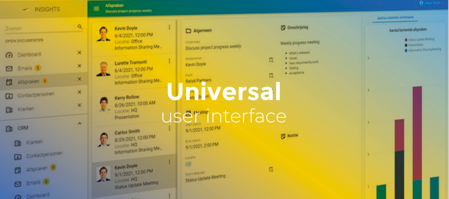 Release notes Universal GUI (2021.2.14)