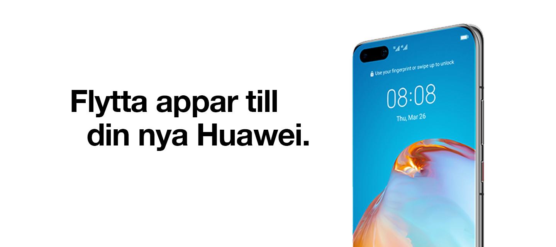Kom igång med din nya Huawei