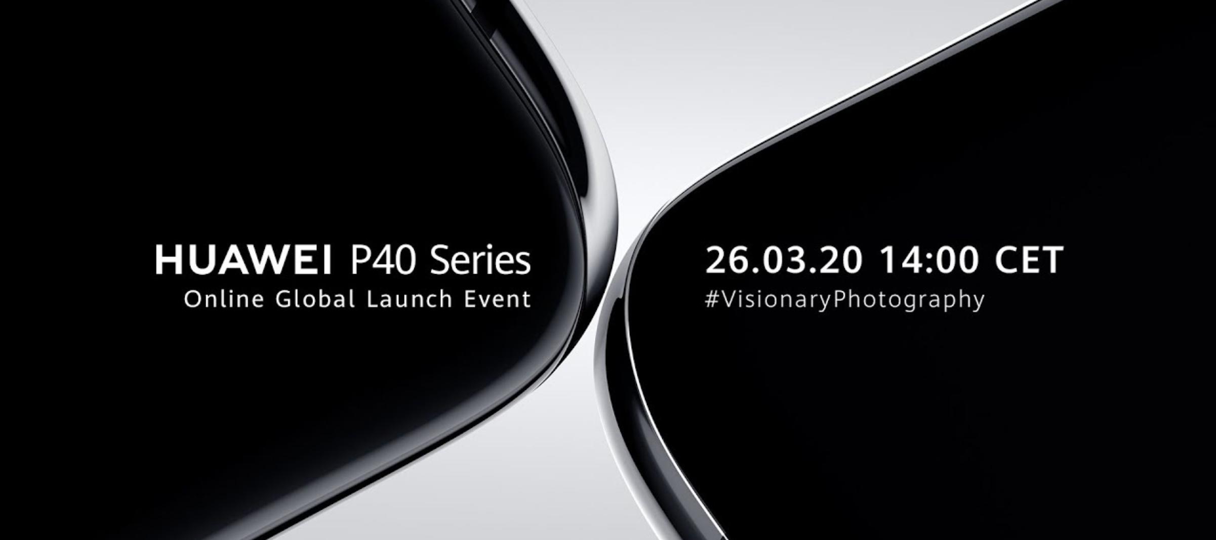 Huawei P40 Series - Live stream
