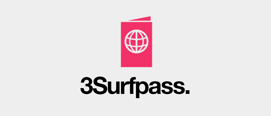 3Surfpass - Surfa billigare i utlandet