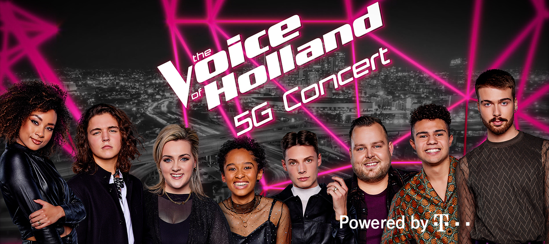 [Nieuws] Wereldprimeur The Voice: concert live opgenomen via 5G