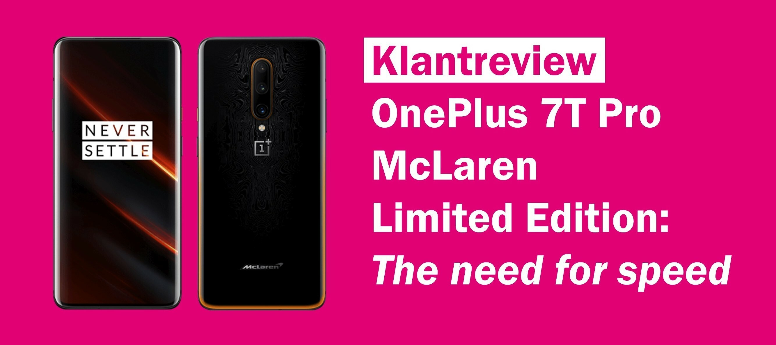 [REVIEW] OnePlus 7T Pro McLaren Limited Edition: The need for speed