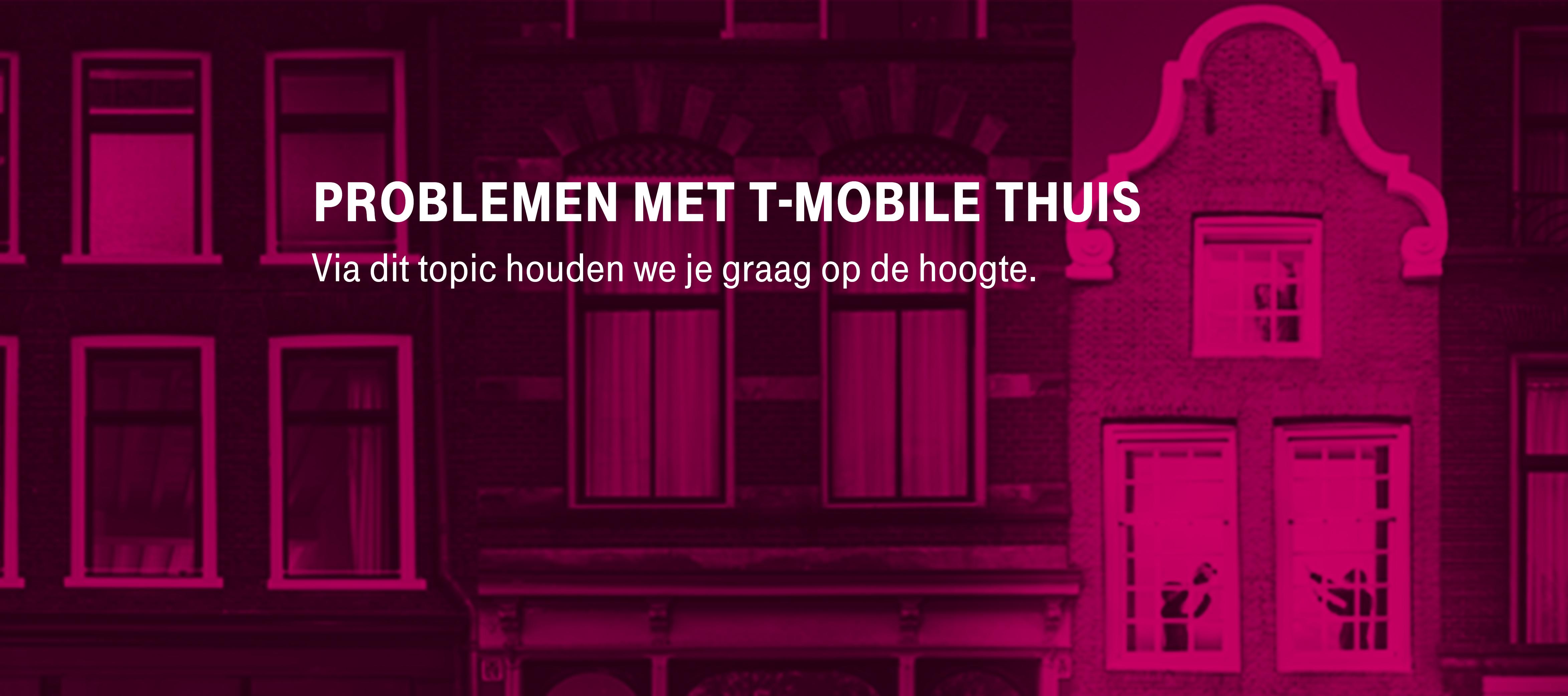 TV problemen T-Mobile Thuis 29-12-2020