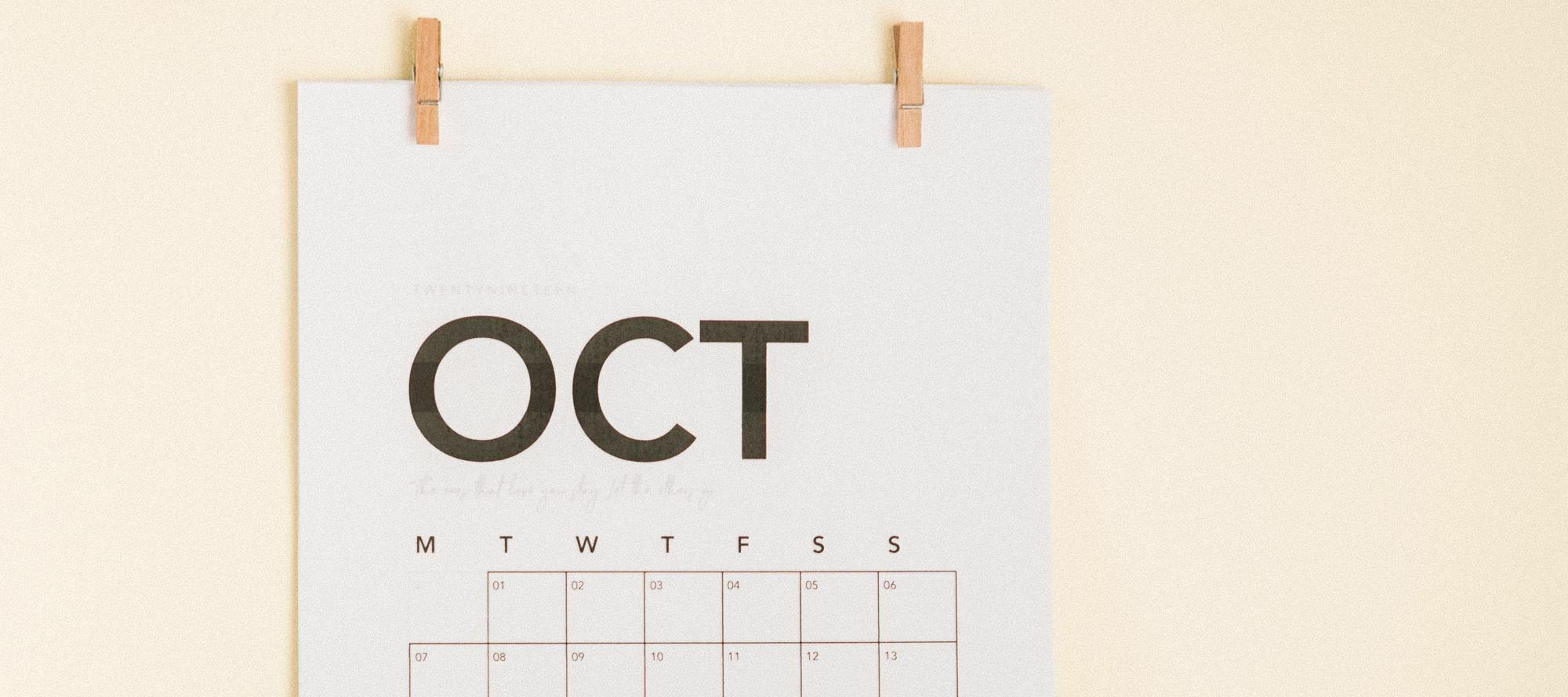 Maandoverzicht van oktober: wat is er allemaal gebeurd op de community?