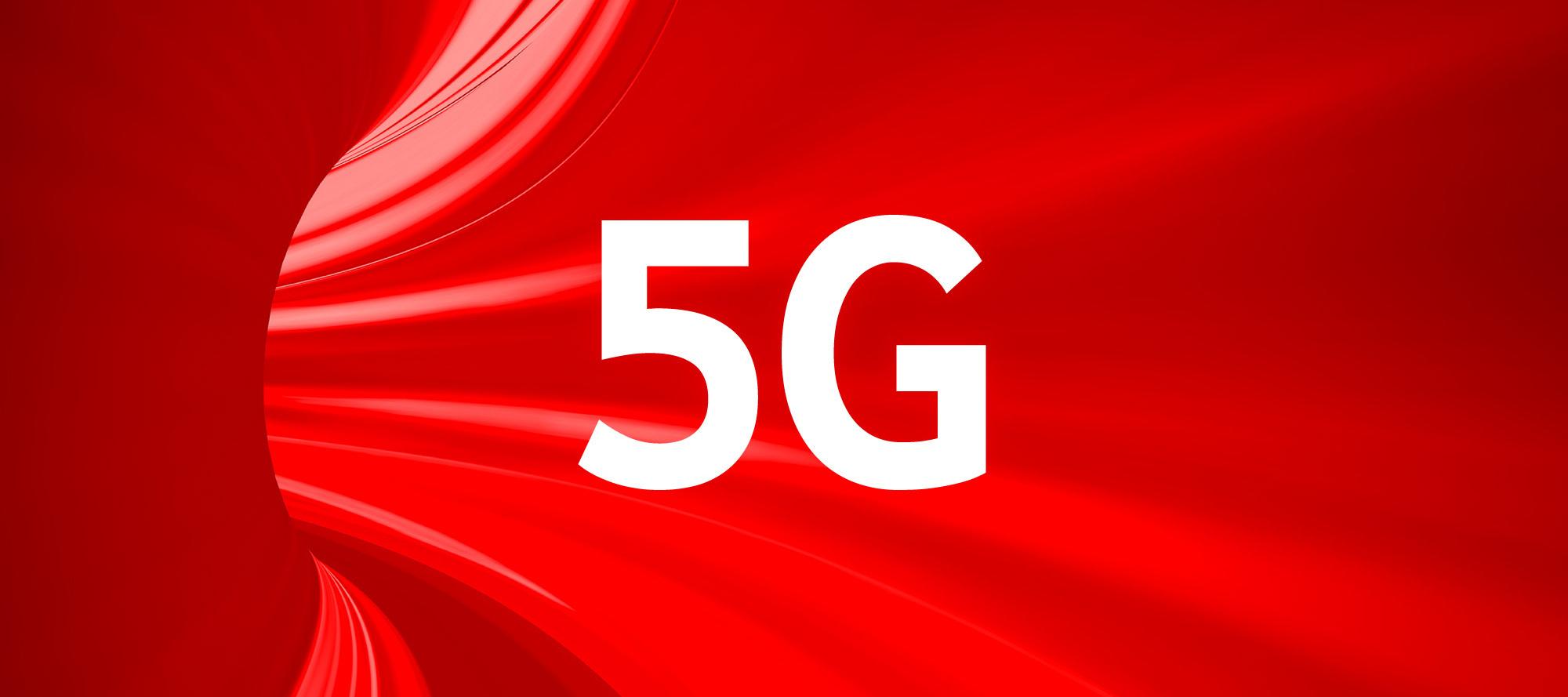 Vodafone start met 5G in Nederland