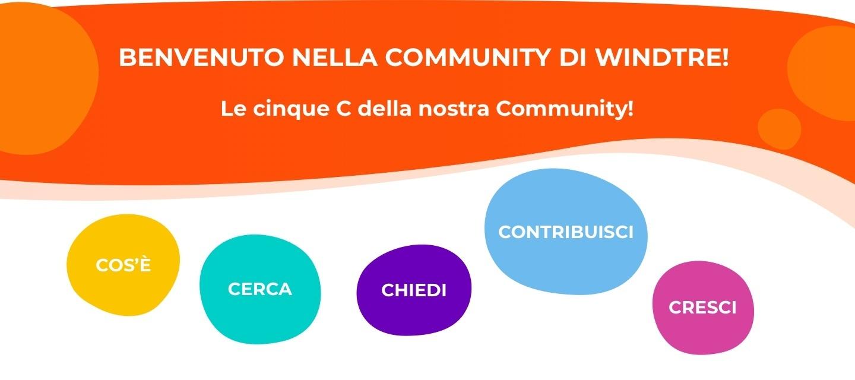 Benvenuto nella Community! :-)