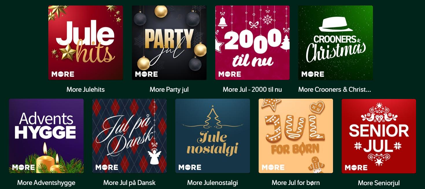 More Julehits - julen er i gang på YouSee Musik!🎄