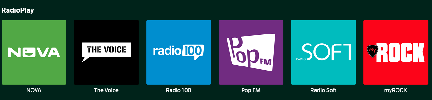 Nye radiostationer i YouSee Musik