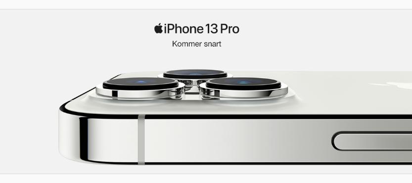 iPhone 13 er landet og Apple har løftet sløret for de nye iPhones